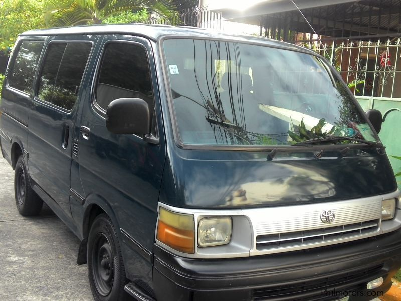 Used Toyota Hi ace commuter for sale in Quezon City