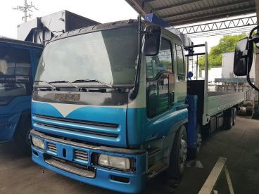 Pre-owned Isuzu Boom Truck for sale in