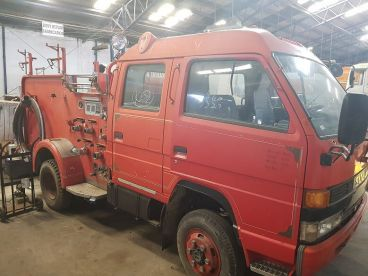 Pre-owned Isuzu Fire Truck 4WD / AWD for sale in