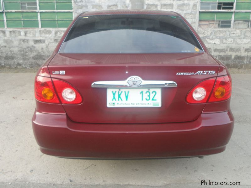 Used Toyota Altis G for sale in Bulacan