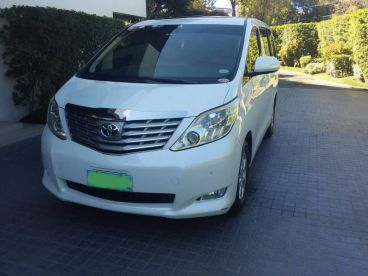 Pre-owned Toyota Alphard for sale in