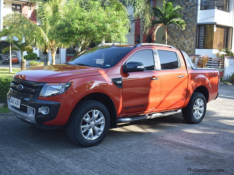 Pre-owned Ford  Ranger Wildtrack 3.2L 4 x 4  Automatic for sale in