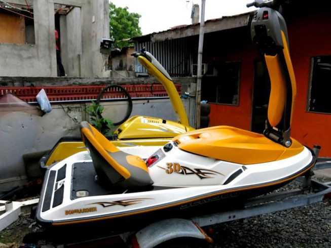 Seadoo Bombardier 3D in Philippines