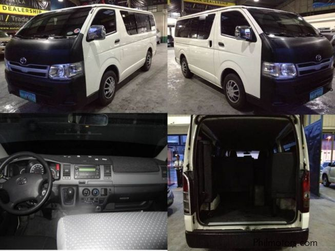 Toyota Hi-ace Commuter in Philippines