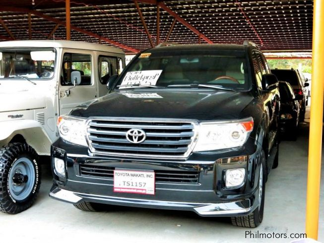 GXR Bullet proof - Armored | 2014 Land Cruiser GXR Bullet proof