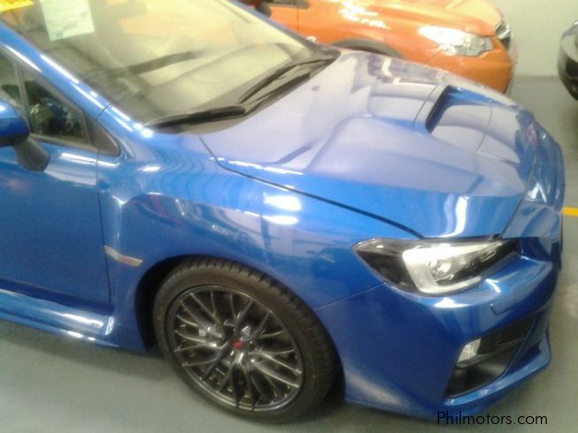Subaru WRX STI WITH WING in Philippines