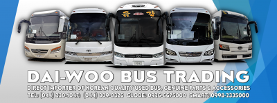 Dai Woo Bus Trading Philippines